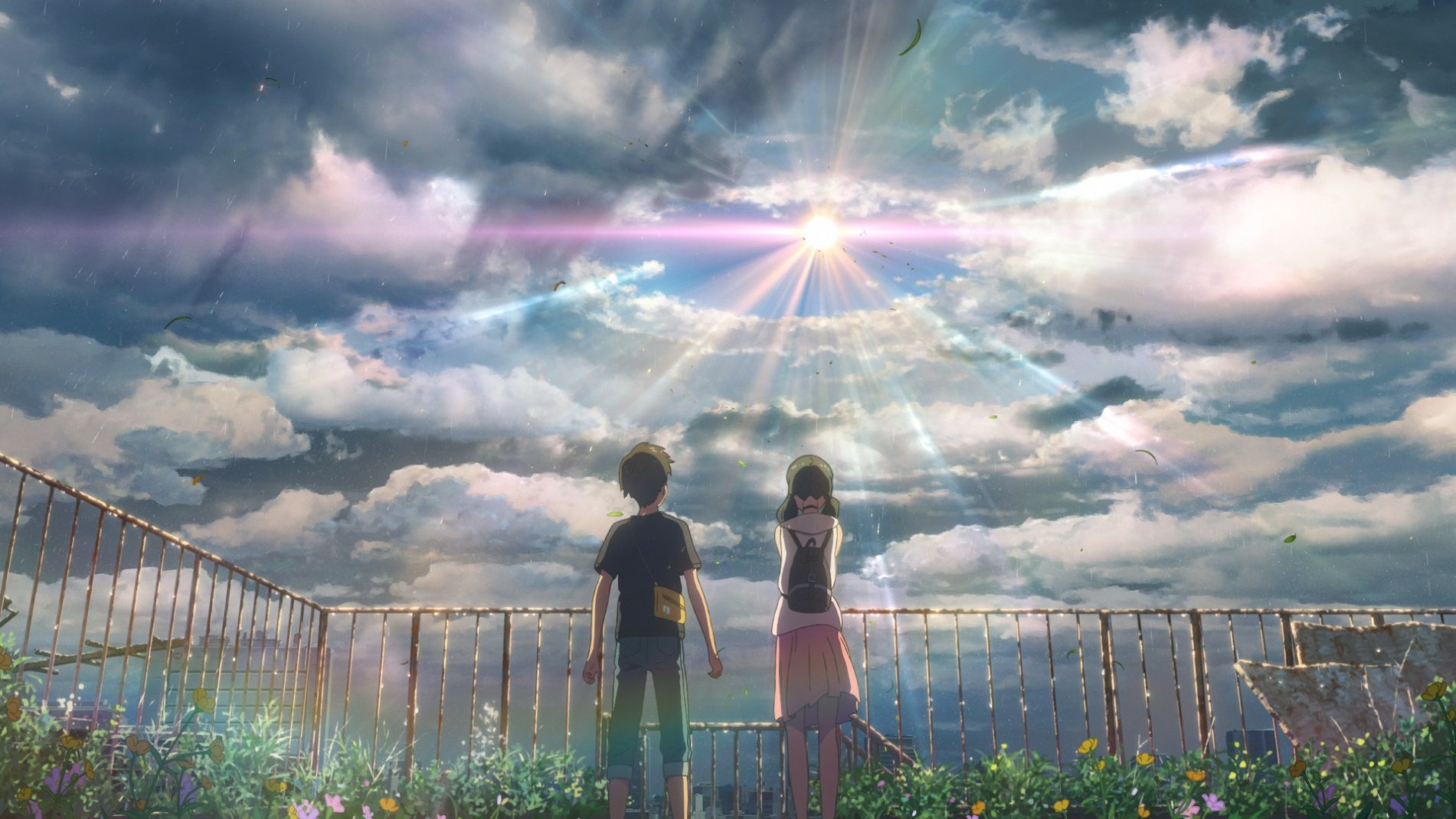 Weathering With You Clip Teases Makoto Shinkai S New Film S English Dub Collider