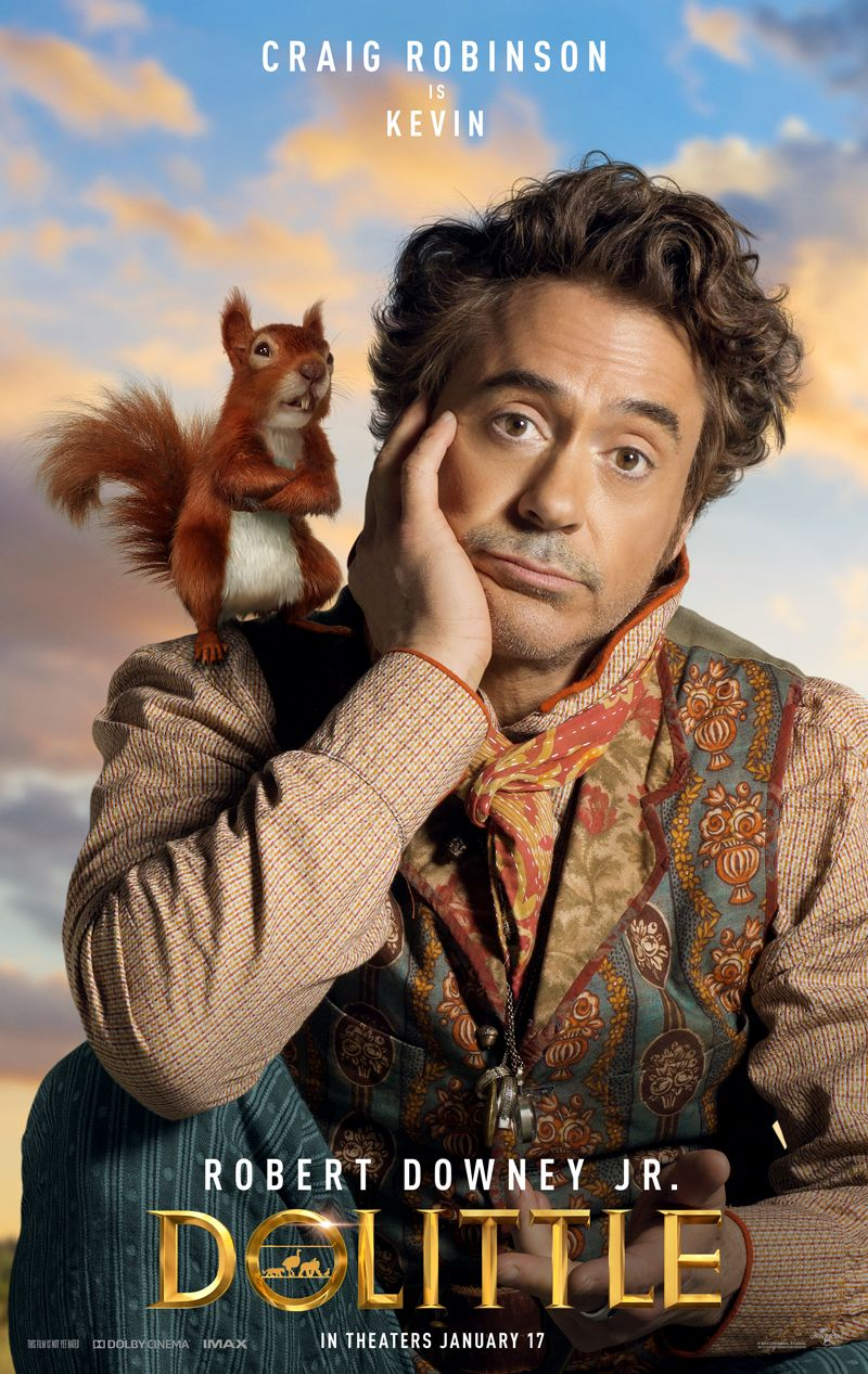 Robert Downey Jr. Thinks Animals Are People in Dolittle