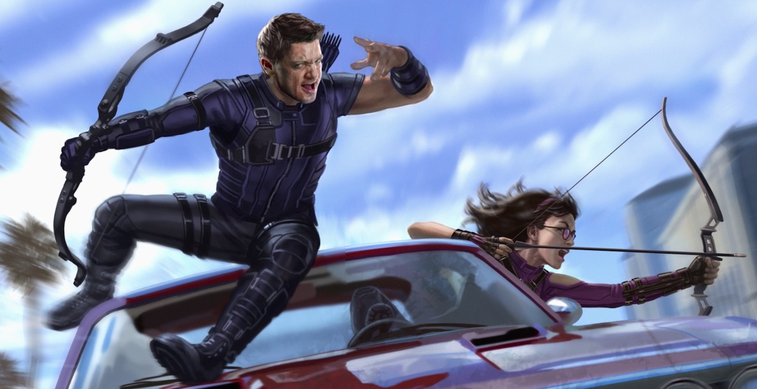 Hawkeye Concept Art Reveals First Look at Marvel Disney ...