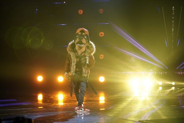 masked-singer-rottweiler-week-7-performance