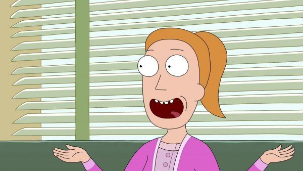 Summer from Rick and Morty