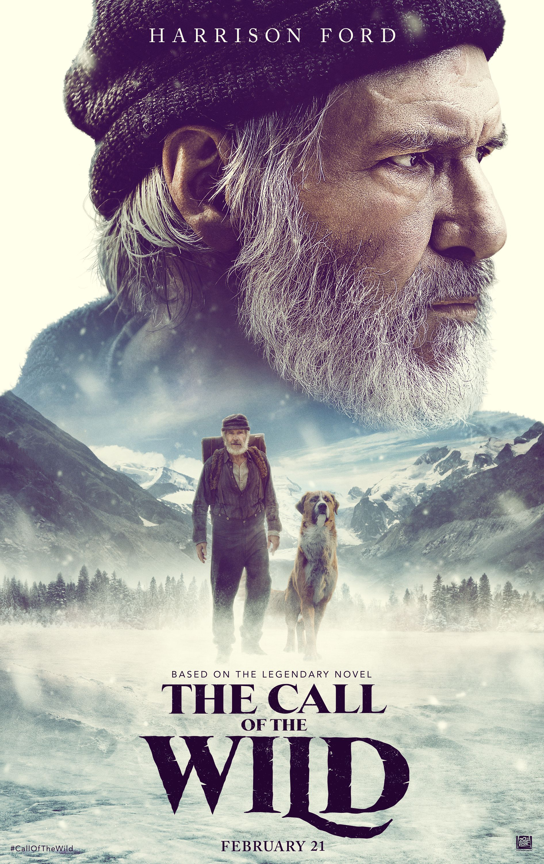 The Call of the Wild Trailer Features Harrison Ford and a ...