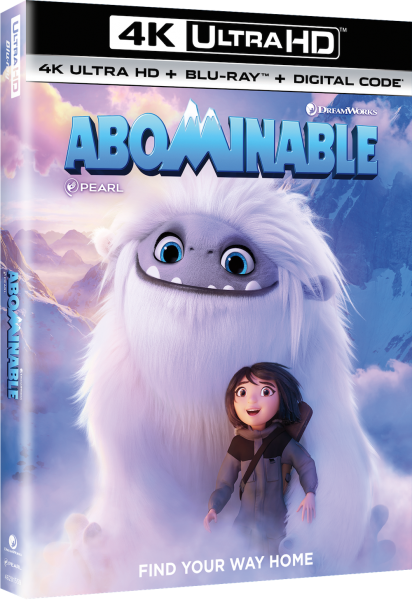 Abominable Digital 4K Blu-ray DVD