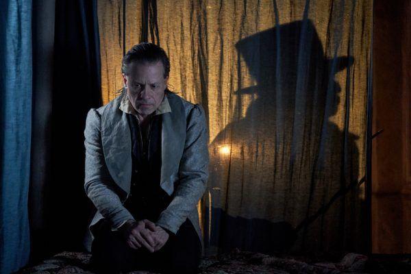 Guy Pearce as Scrooge in A Christmas Carol