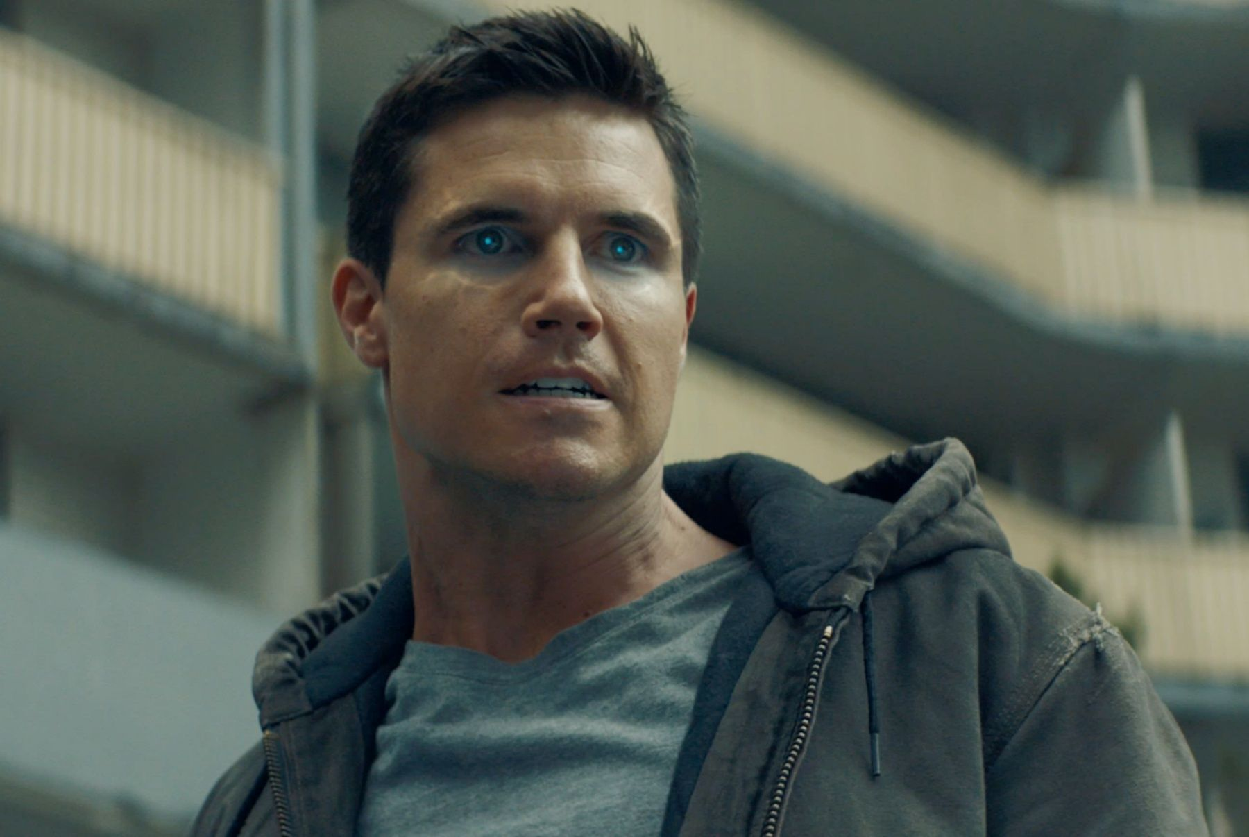 Robbie Amell on Getting Code 8 Made and If He'll Return to The Flash   Collider