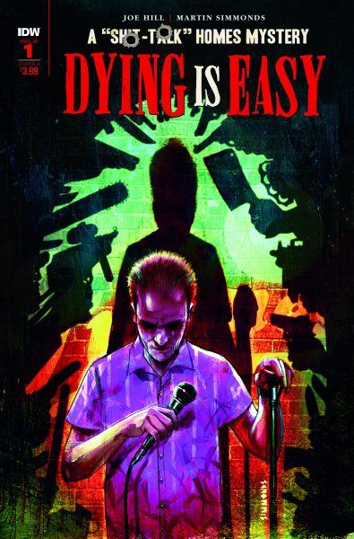 Dying Is Easy comics cover