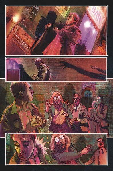 Dying Is Easy comic page