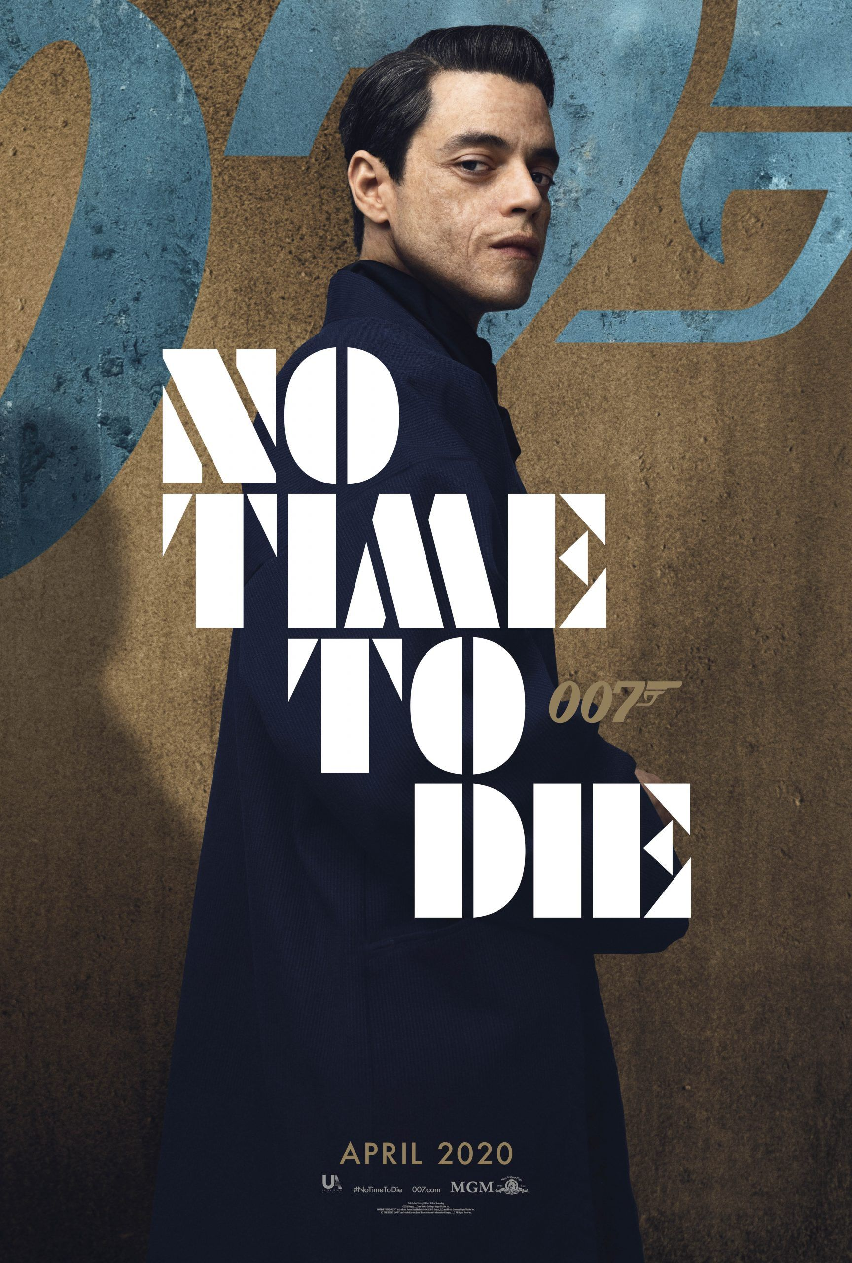 James Bond 25, No Time to Die, Gets New Character Posters | Collider
