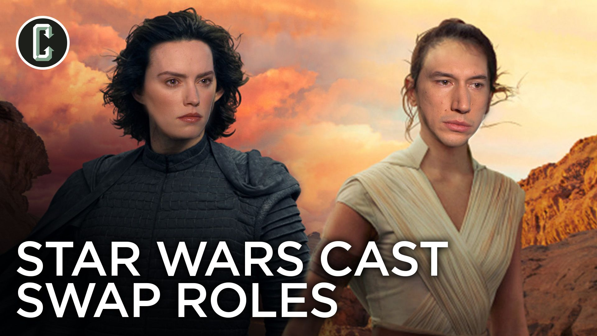 Watch The Star Wars The Rise Of Skywalker Cast Swap Roles Collider