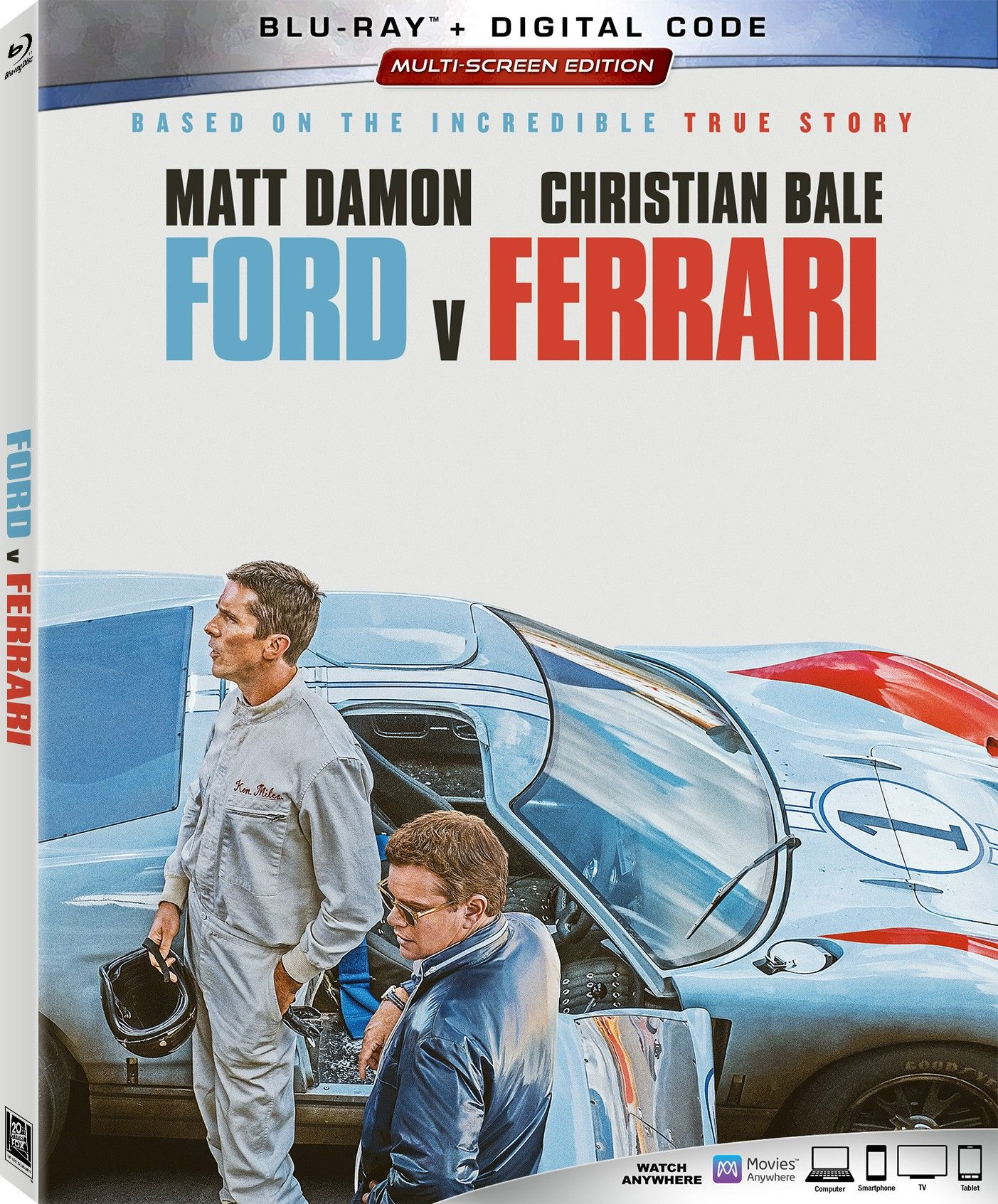 Ford V Ferrari Digital Blu Ray Details Release Date Revealed