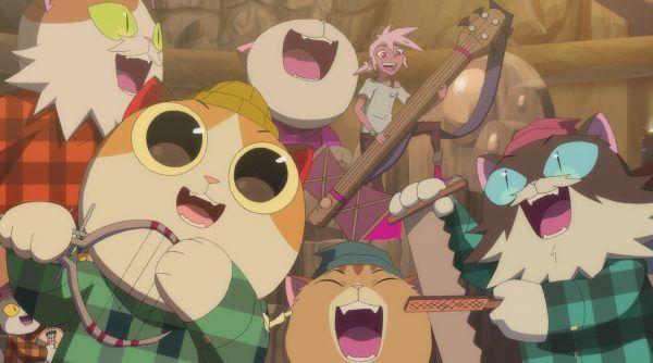 Timbercats sing-along