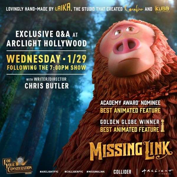 missing-link-arclight-collider-fyc-screening-poster