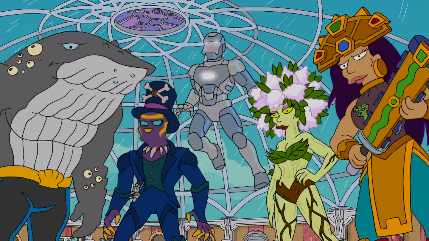 Simpsons Avengers Episode Cast Features Guest Stars From The Mcu Collider