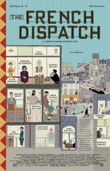 Image result for the french dispatch poster