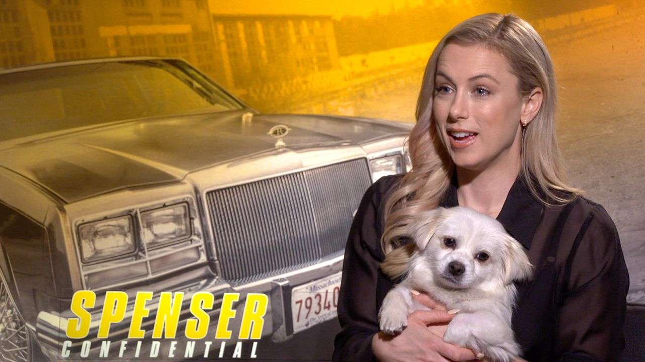 Iliza Shlesinger Talks Spenser Confidential And Her Rescue Dog From China Collider