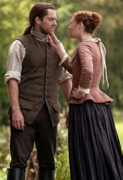 outlander-sophie-skelton-richard-rankin