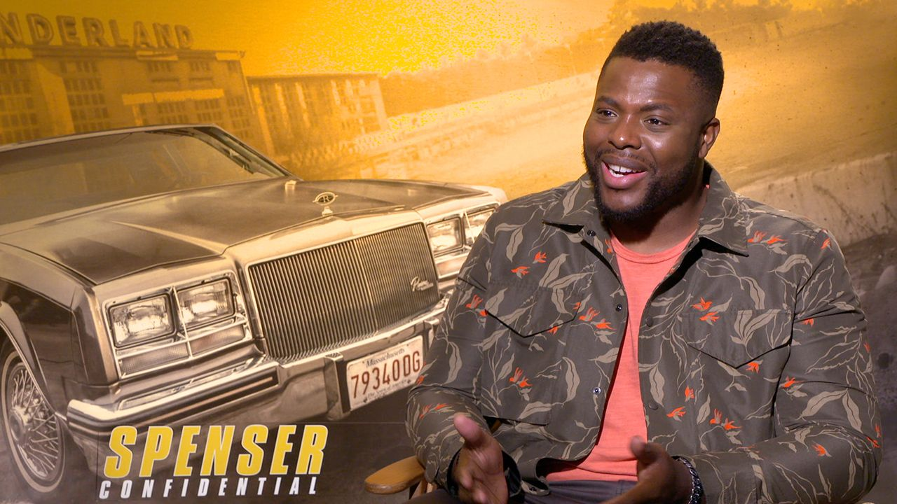 Winston Duke Talks Spenser Confidential And Filming With 40 Dogs Collider