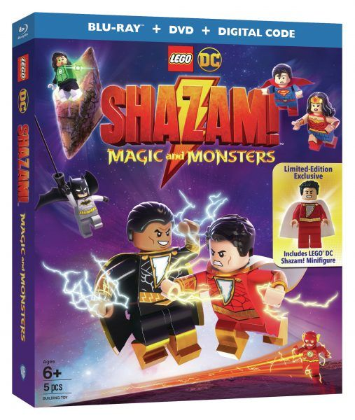 LEGO DC Shazam! Magic and Monsters Digital, Blu-ray Release Date ...