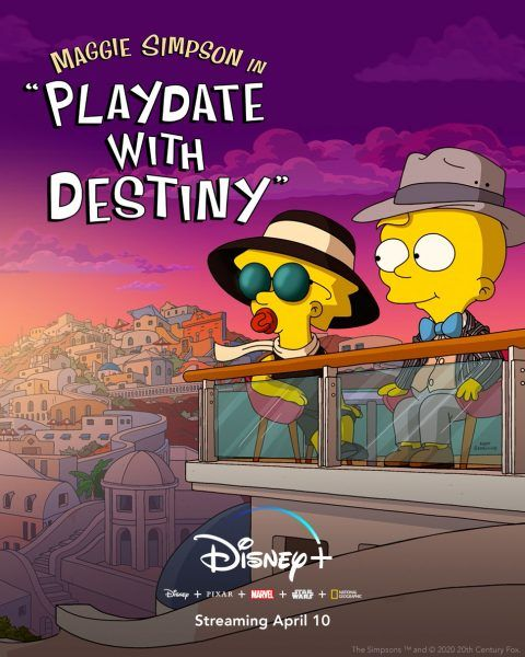 the-simpsons-maggie-simpson-playdate-with-destiny-disney-plus-poster