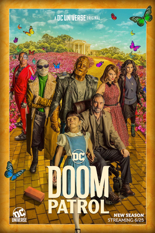 Doom Patrol Season 2 Posters Head Down The Yellow Brick Road