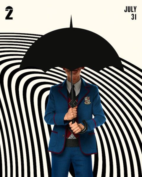 umbrella academy, <b> Umbrella Academy drops new posters featuring more of the Hargreeves </b>
