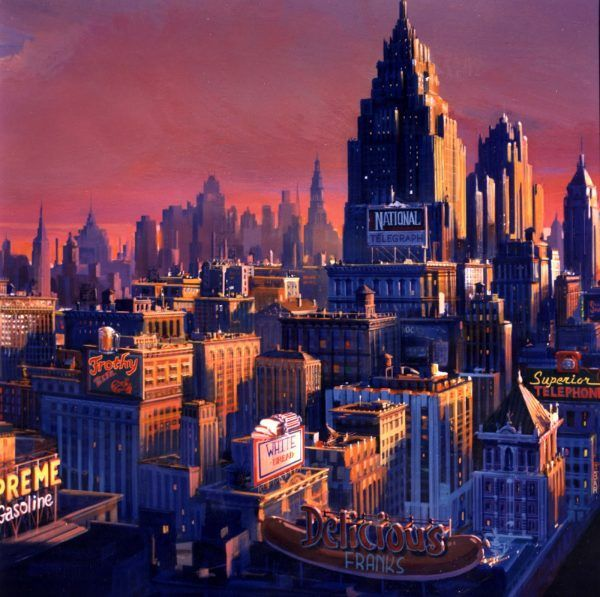 dick-tracy-matte-painting