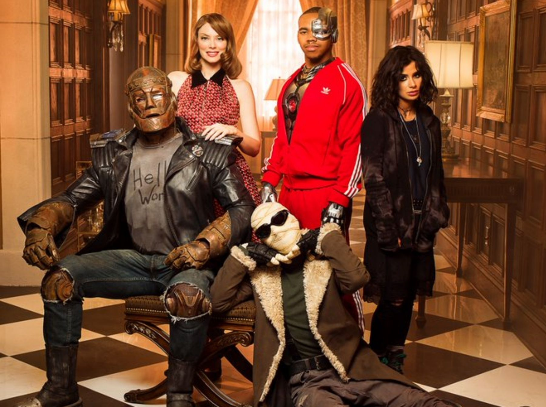 Doom Patrol Showrunner On Getting Away With Wild Season 2 Collider