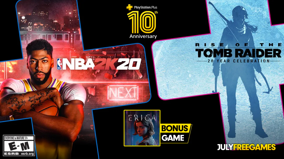 PlayStation Plus Free Games for July 2020 Include 2015's 'Rise of the Tomb Raider' thumbnail