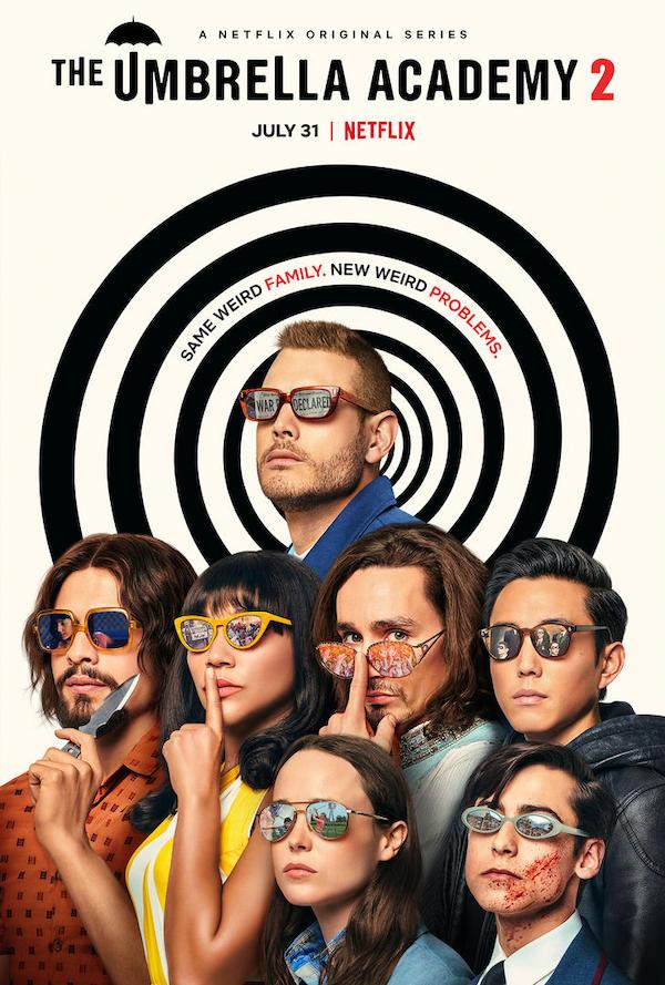Umbrella Academy Season 2 Poster Includes Spoilery Easter Eggs   Collider