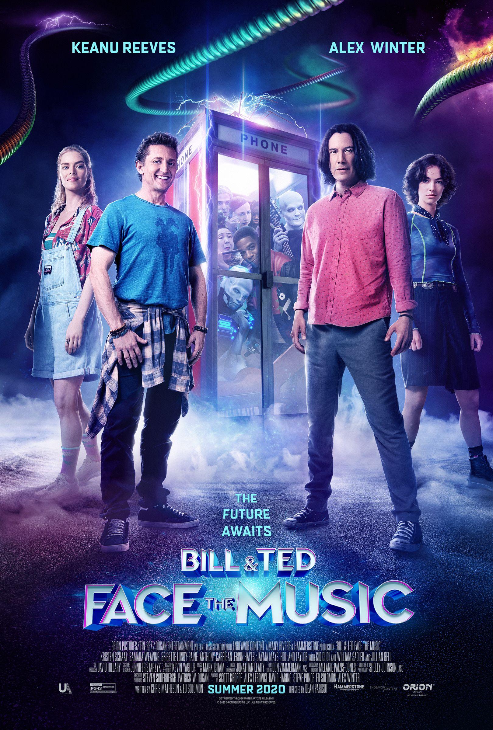 Комедия «Билл и Тед» с Киану Ривзом выйдет одновременно на видео и в кино