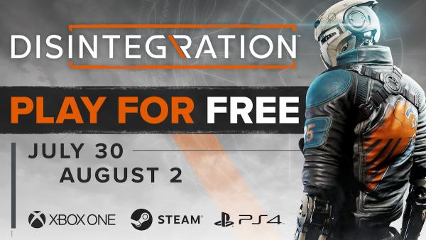 disintegration-free-weekend