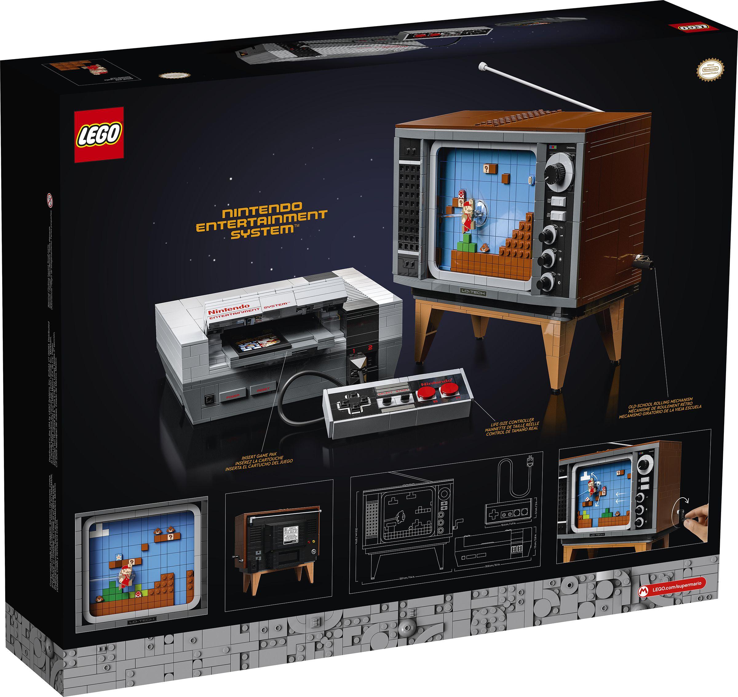 LEGO Super Mario: Nintendo Console Set Details | Collider