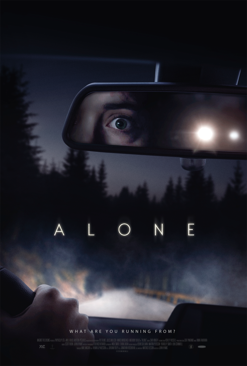Alone Movie Poster Teases Tense New Surivival Thriller | Collider