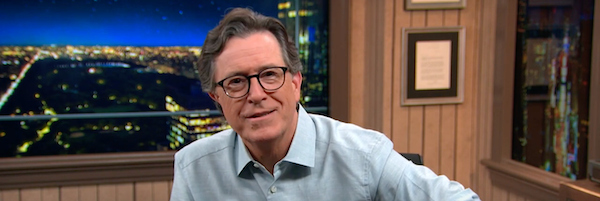 Watch: Stephen Colbert's