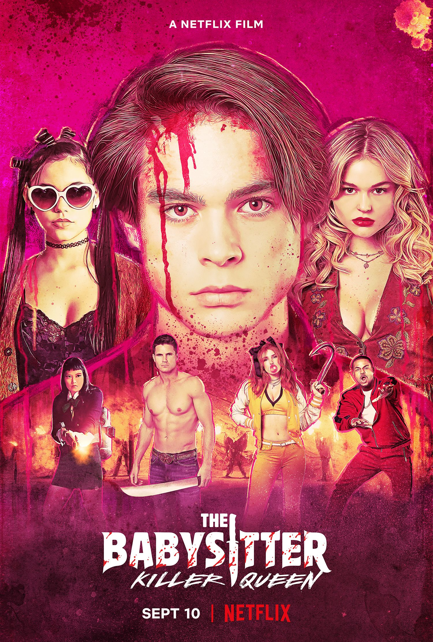 The Babysitter 2 Trailer Reveals Netflix's Bloody Horror-Comedy Sequel |  Collider