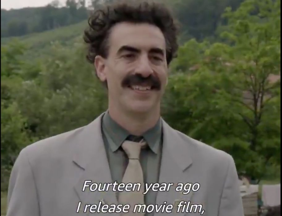 Borat 2 Trailer Reveals the Return of Sacha Baron Cohen's ...