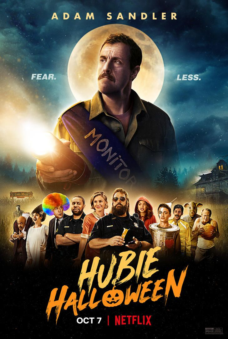 Adam Sandler S Hubie Halloween Trailer Reveals Star Studded Netflix Movie Collider