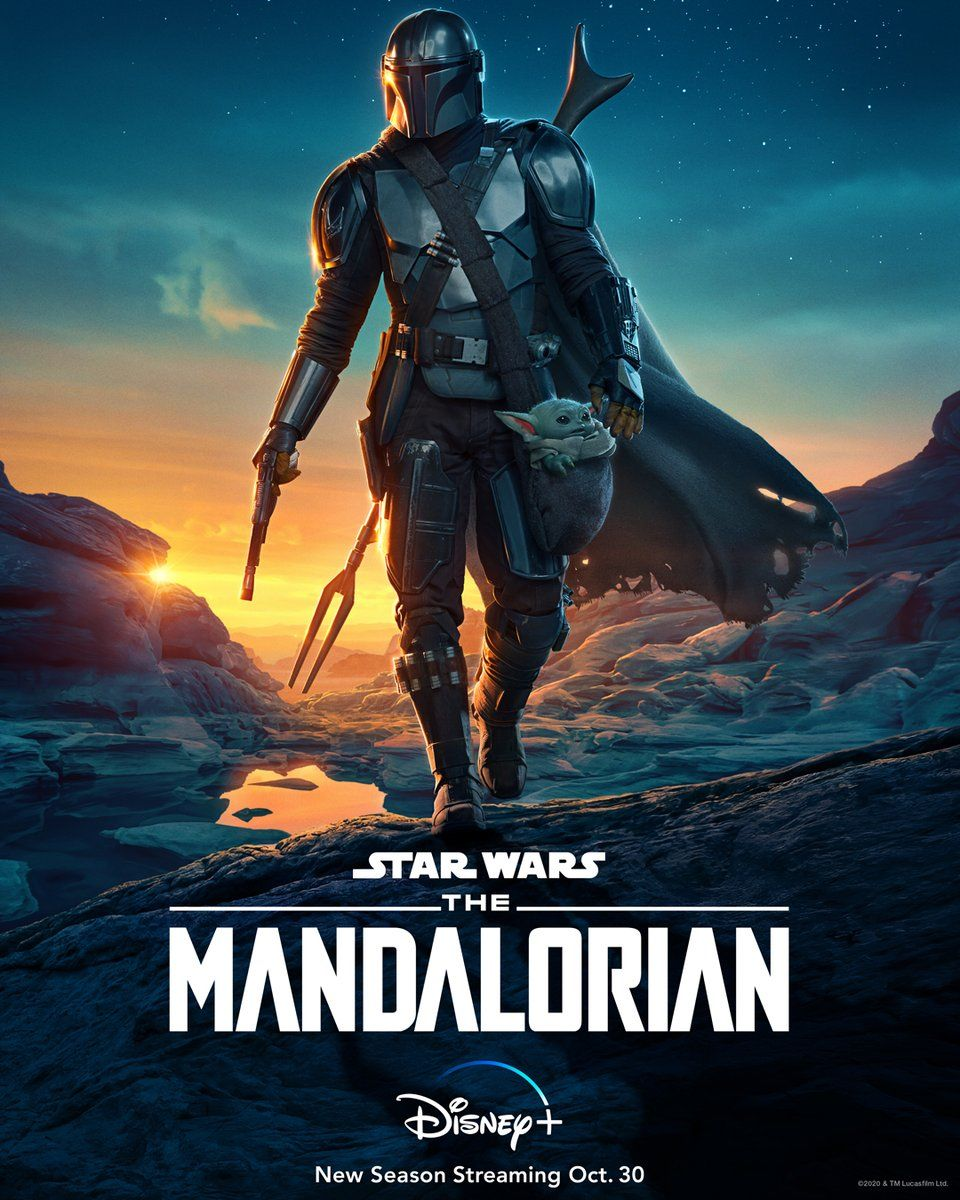 The Mandalorian Season 2 Poster Puts Baby Yoda In A Pouch Collider