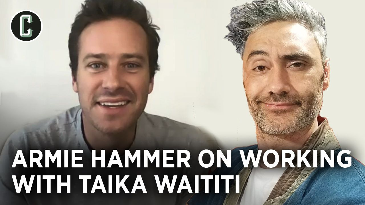 Armie Hammer on Next Goal Wins and Working With Taika ...