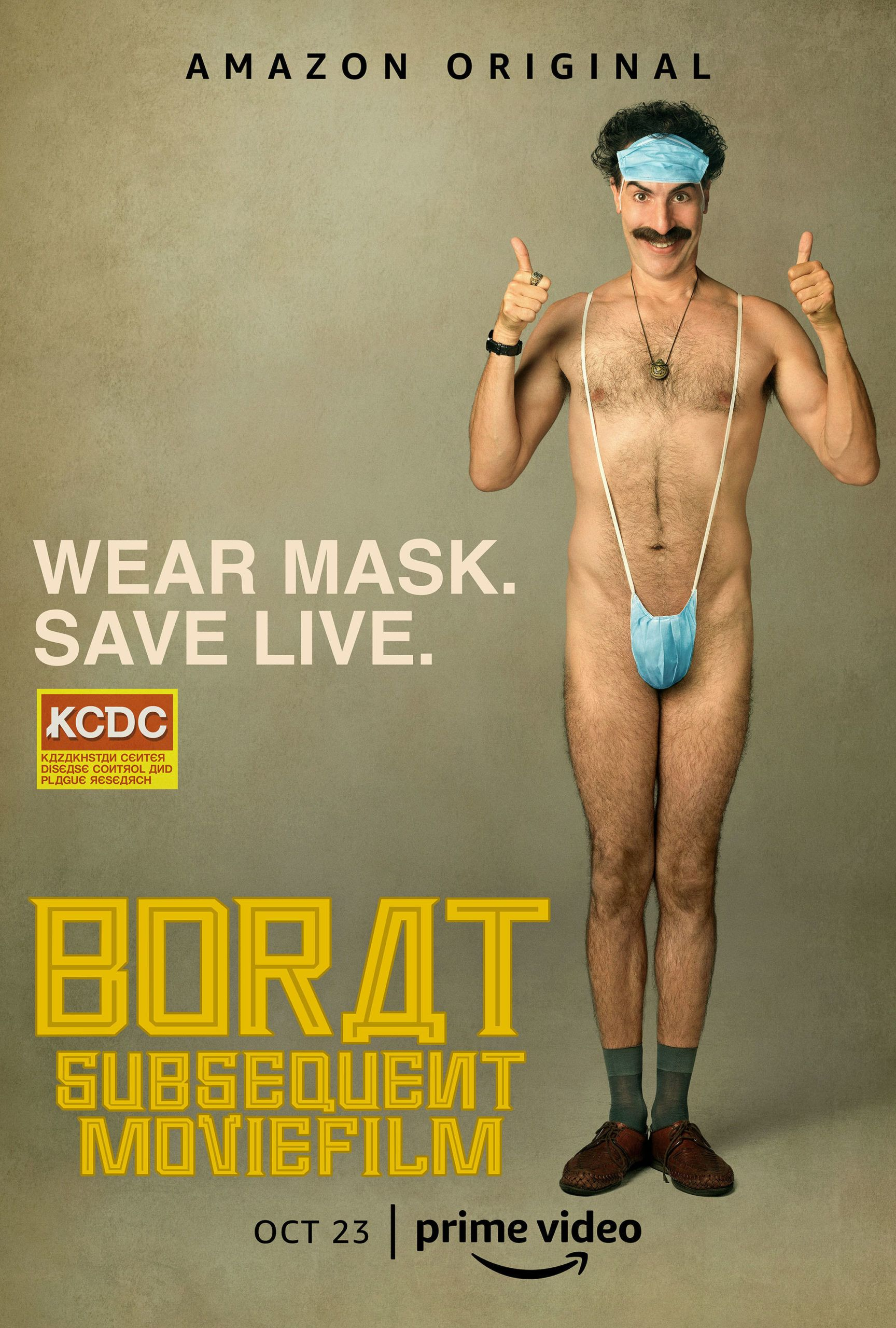 Borat 2 Trailer Reveals the Return of Sacha Baron Cohen's Character |  Collider