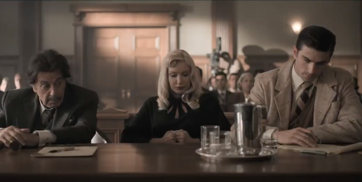American Traitor Trailer and Poster Reveal Al Pacino as WWII-Era Lawyer
