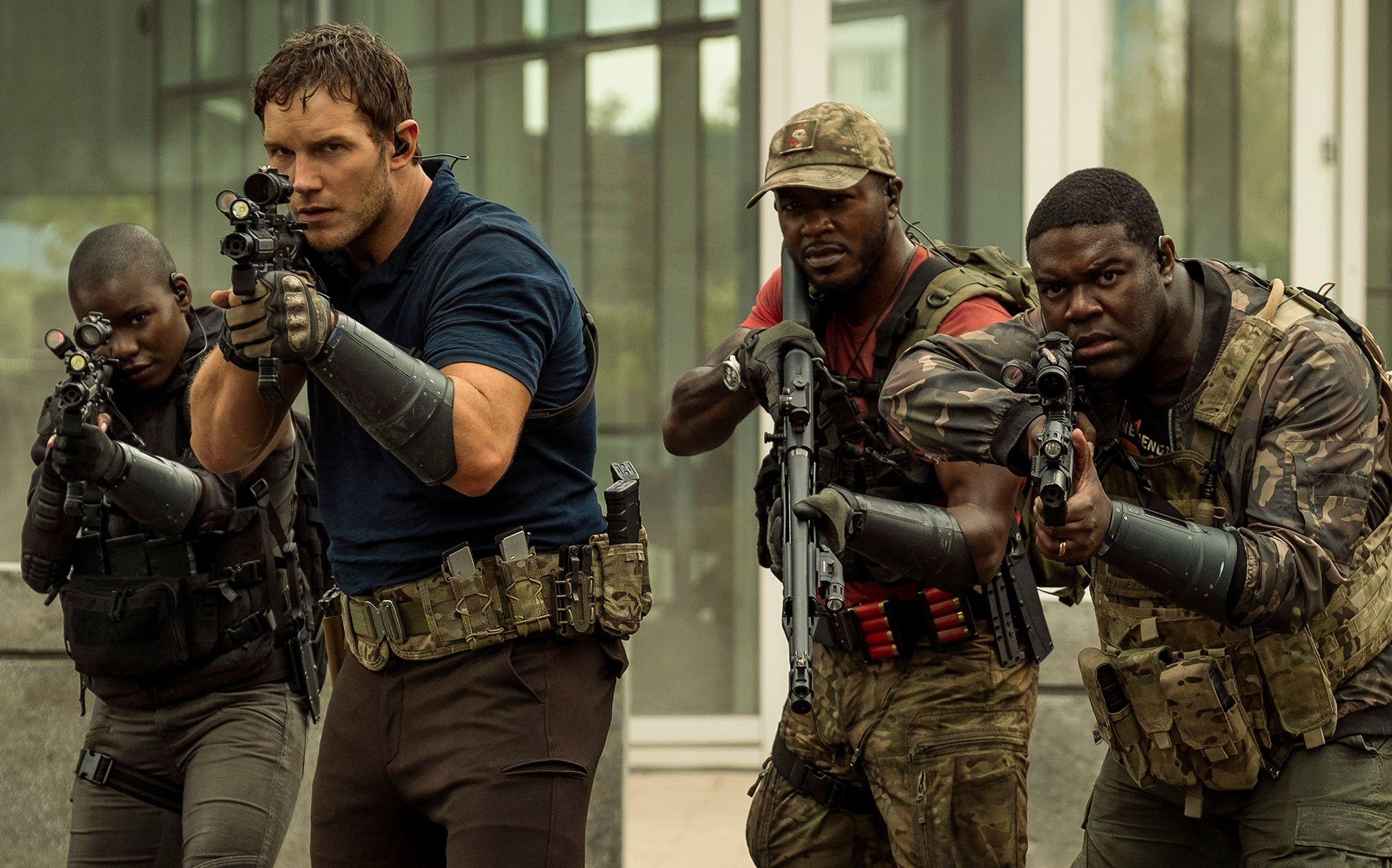 The Tomorrow War Trailer Reveals Chris Pratt's Sci-Fi Epic