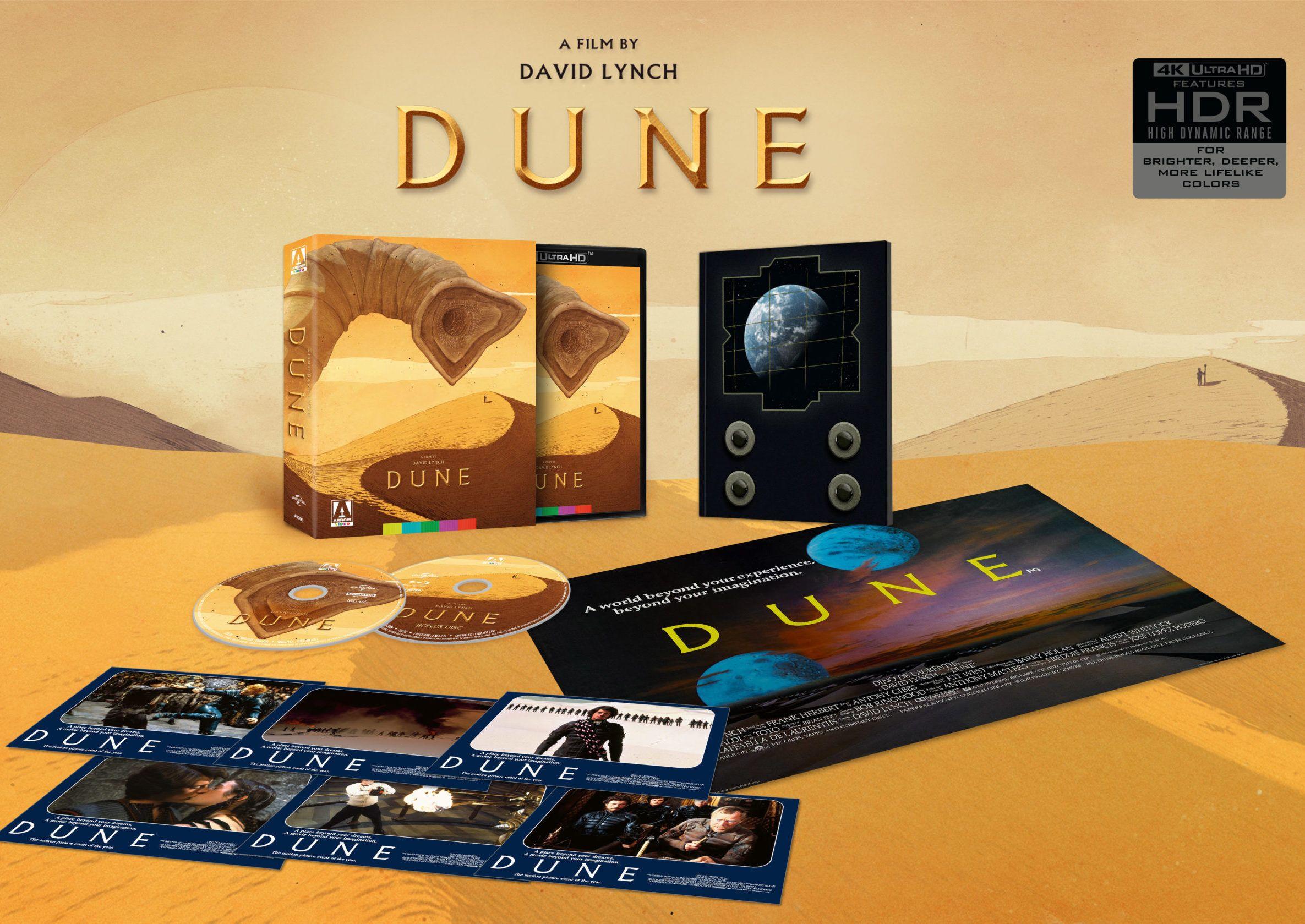David Lynch's Dune 4K Blu-ray Release Date Revealed