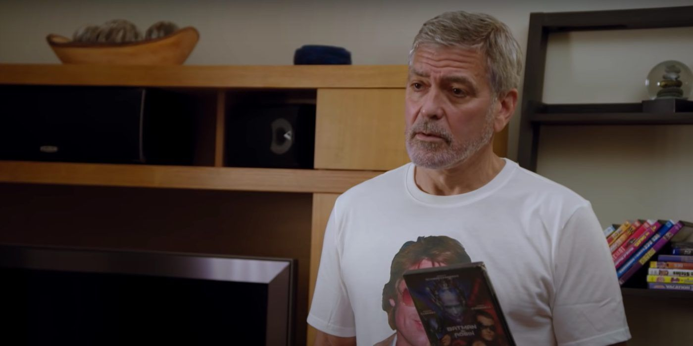 Watch: George Clooney Is the Biggest Brad Pitt Fan in Hilarious New Omaze Ad - cover