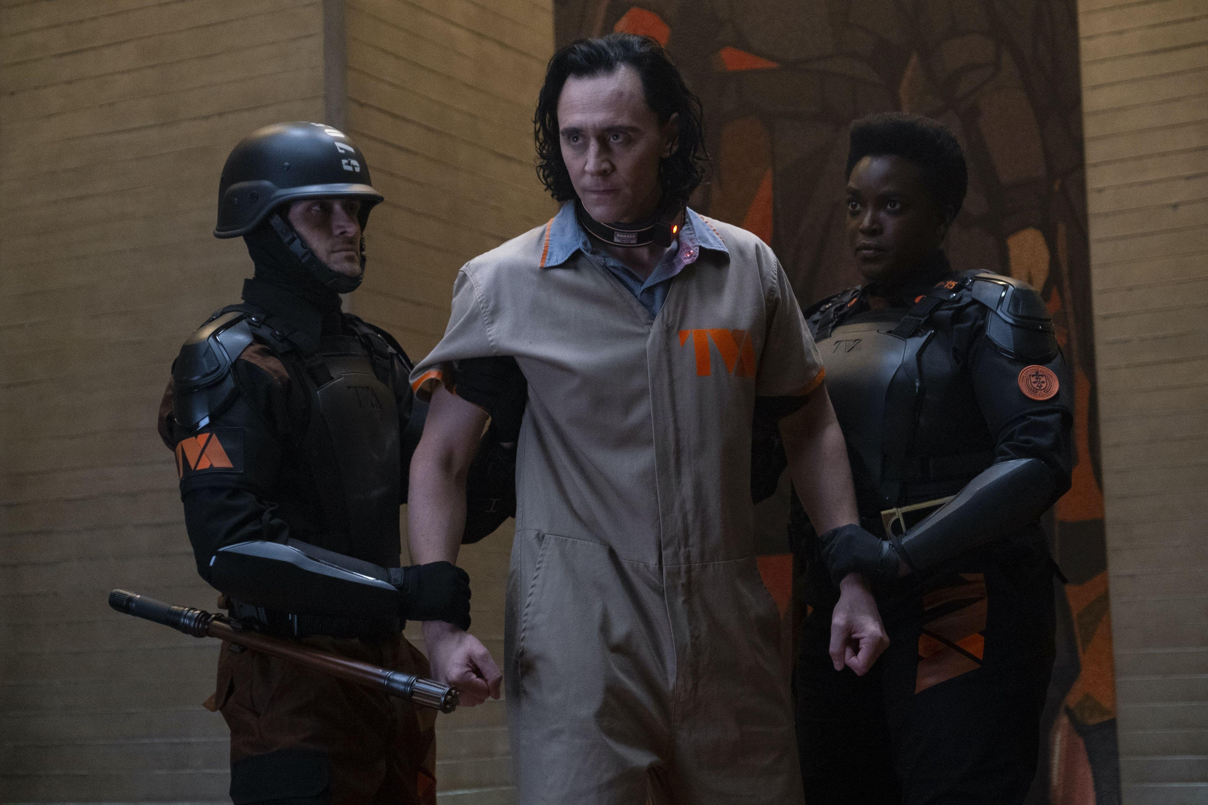 Loki Clip Features Wunmi Mosaku and Tom Hiddleston in Disney+ Show