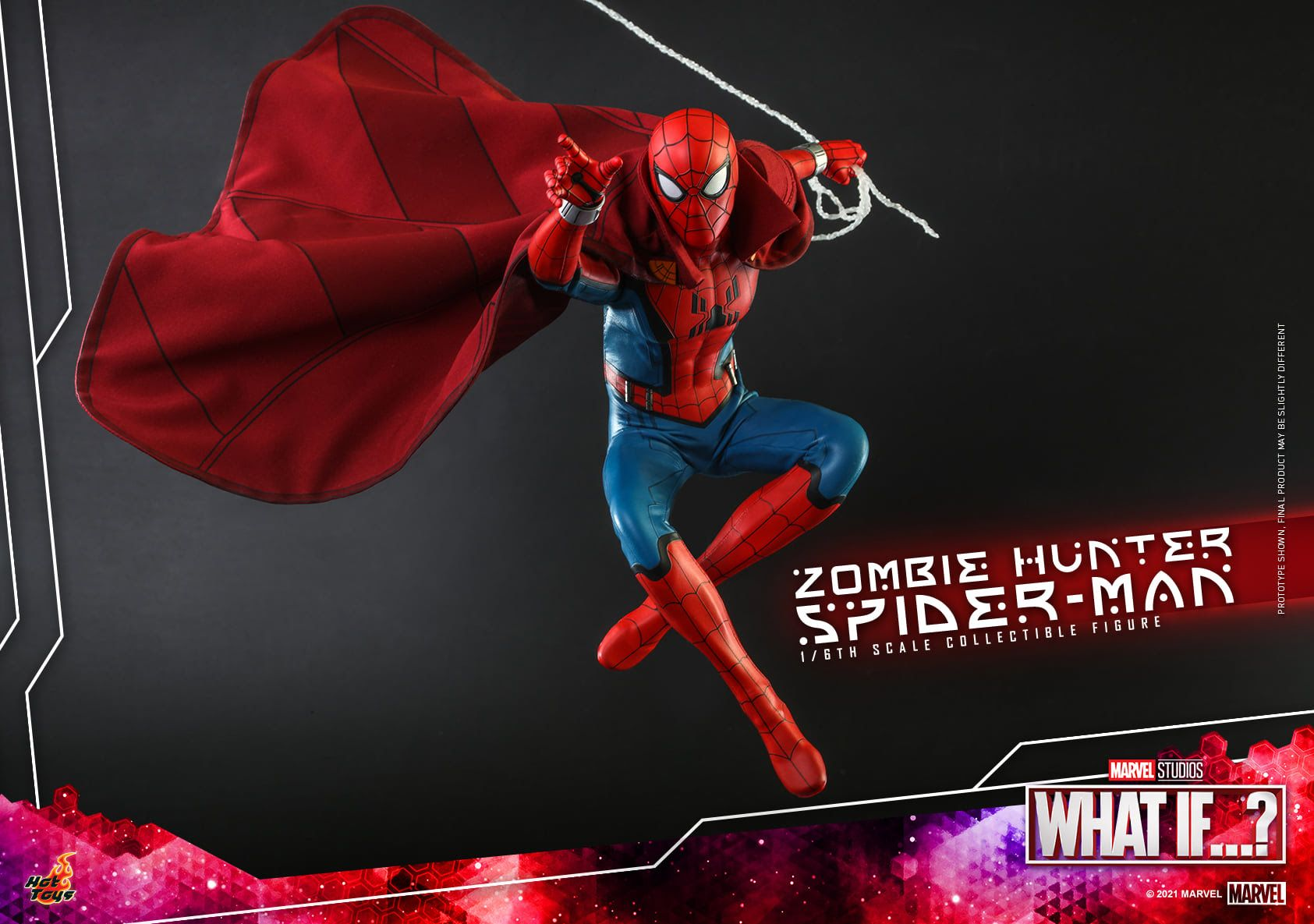 Marvel's What If...? Zombie Hunter Spider-Man Figure Gets First Images