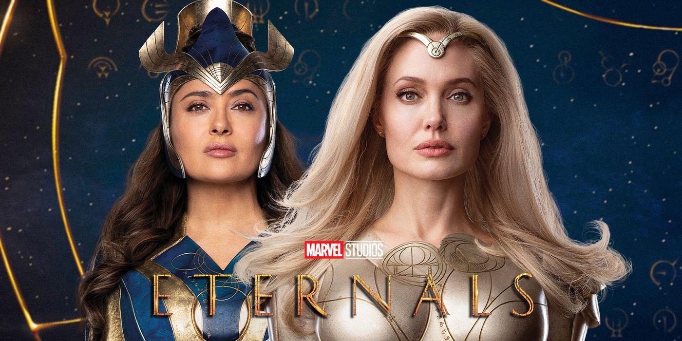 Angelina Jolie & Salma Hayek: Eternals VS Thanos