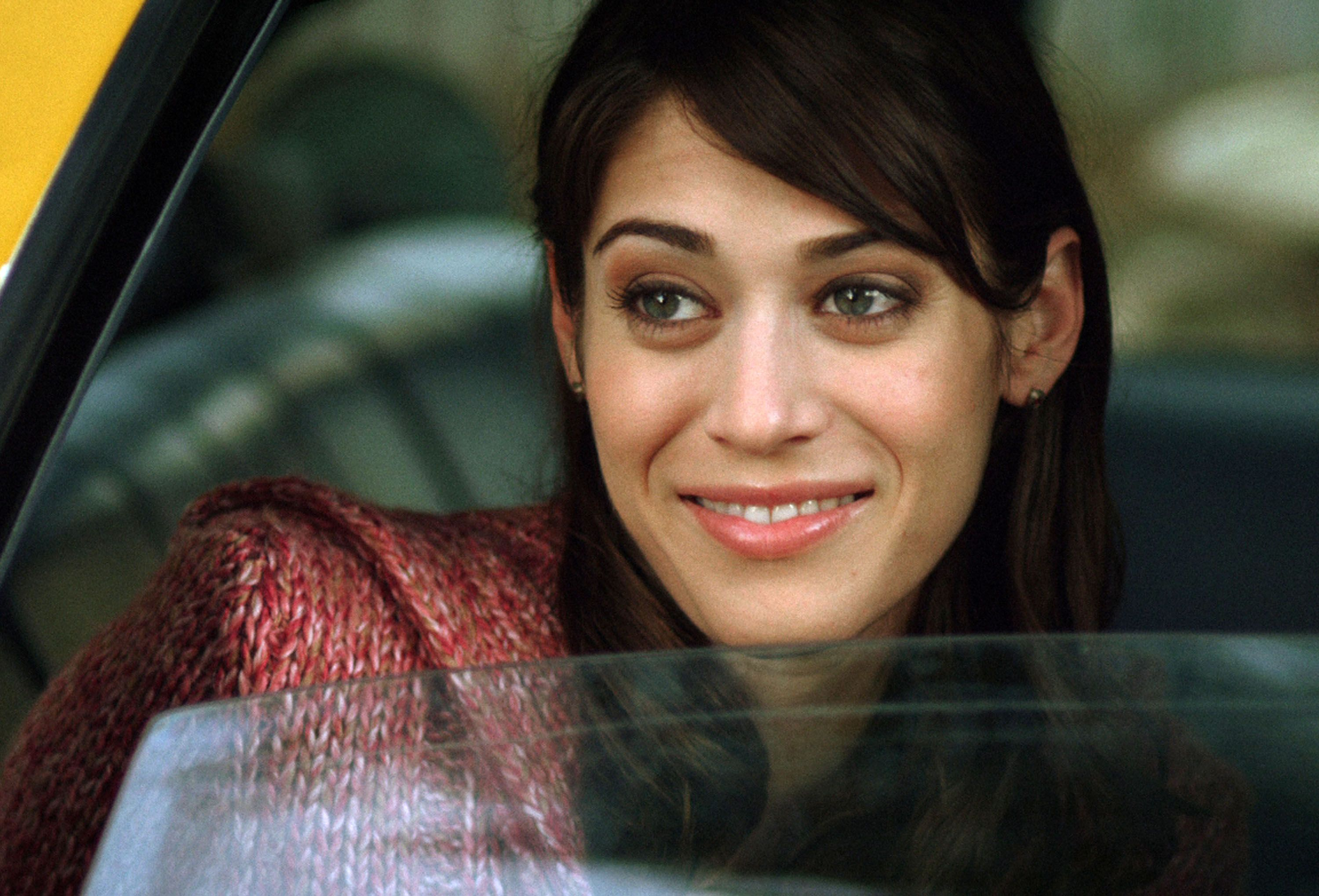 photo of Lizzy Caplan  - car