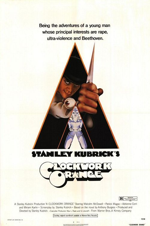"Watch Malcolm McDowell Discuss Shooting ""Singin' in the ... A Clockwork Orange Poster"