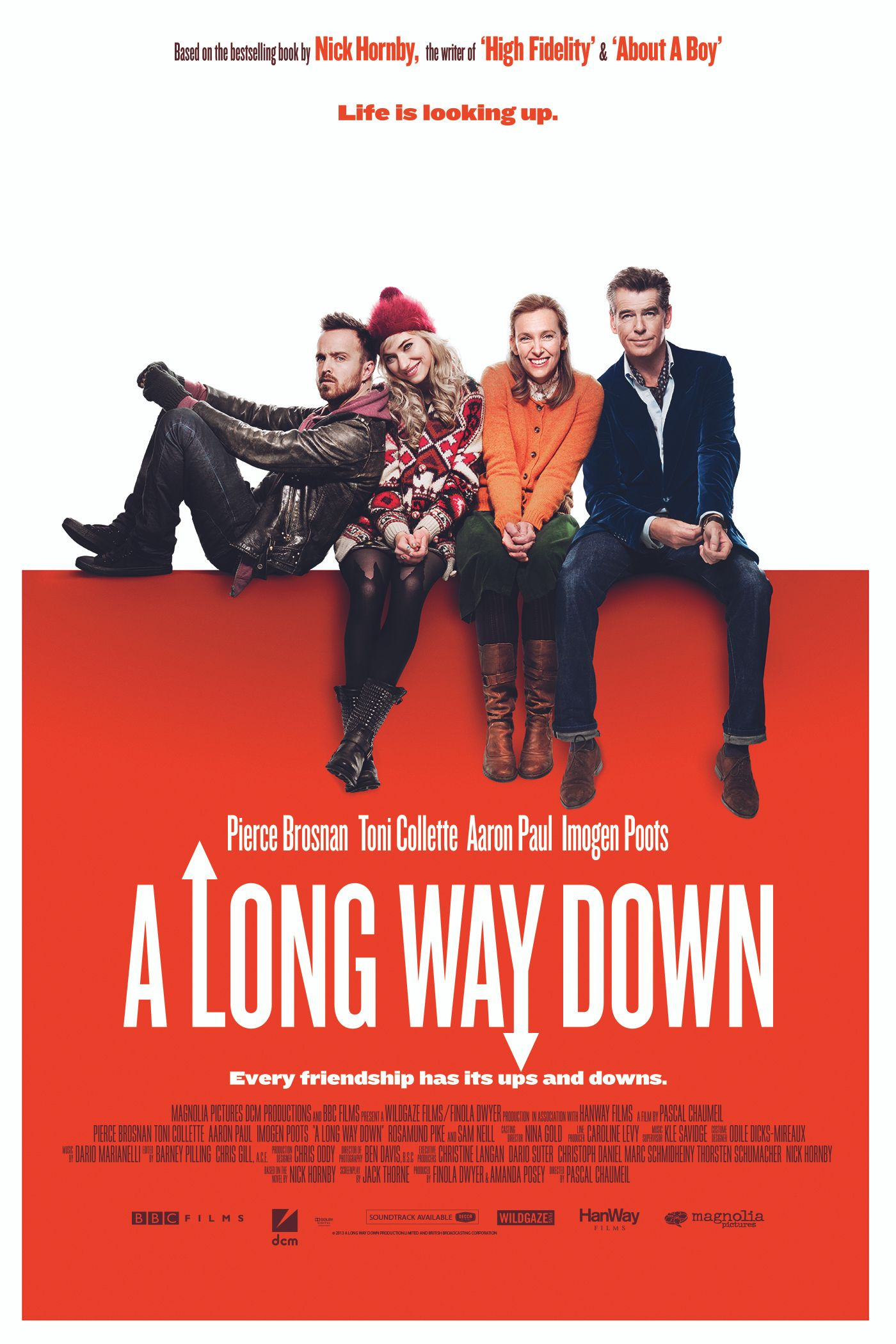 nick hornby a long way down Losing his grip nick hornby is a lovely, witty prose stylist—but without real characters, his latest novel falls flat  on the evidence of a long way down, this notion has apparently stuck.